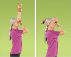 تمرین کشش آرنج