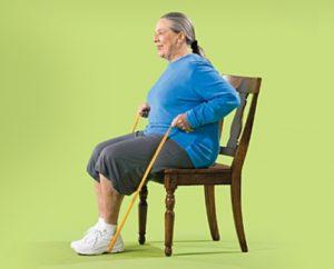 تمرین طناب و صندلی