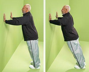تمرین هل دادن دیوار