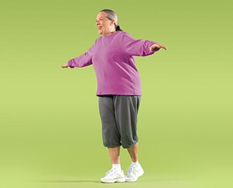 پیاده روی با پاشنه پا تمرین های تعادل